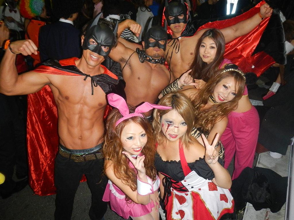 性病に感染すると言われてる渋谷のハロウィンエロ画像14枚目