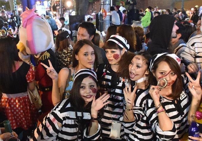 性病に感染すると言われてる渋谷のハロウィンエロ画像15枚目