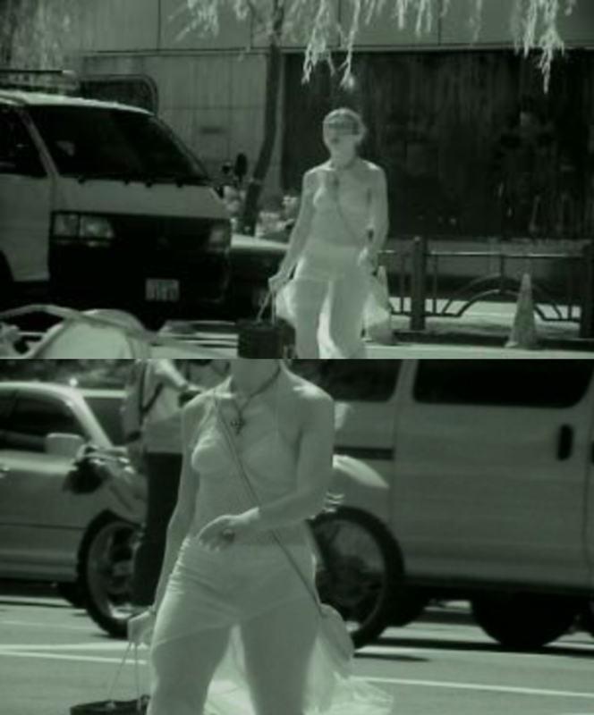 赤外線盗撮で顕になった女子バレー下着エロ画像7枚目