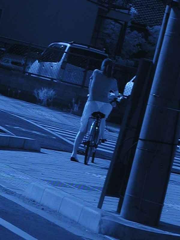 赤外線盗撮で顕になった女子バレー下着エロ画像9枚目