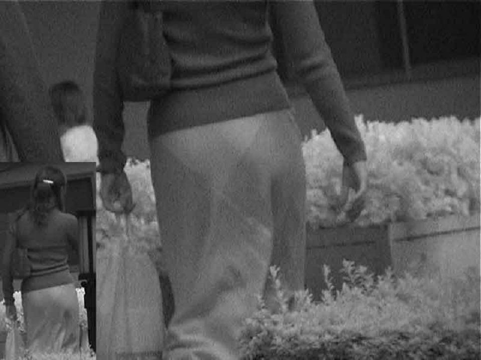 赤外線盗撮で顕になった女子バレー下着エロ画像14枚目