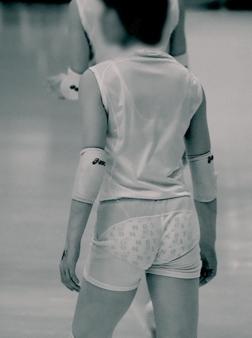 競泳水着のjk乳を赤外線カメラで盗撮したエロ画像8枚目
