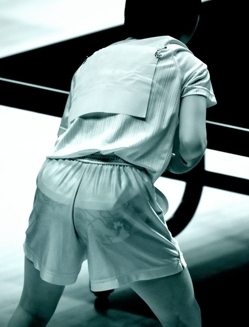 競泳水着のjk乳を赤外線カメラで盗撮したエロ画像12枚目